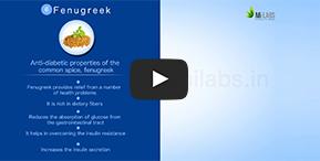 Watch how  Fenugreek helps control blood sugar level.
