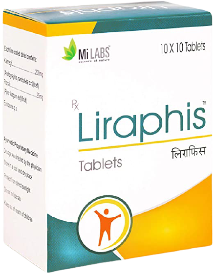 Liraphis Tablet (Pack Size:10x10)